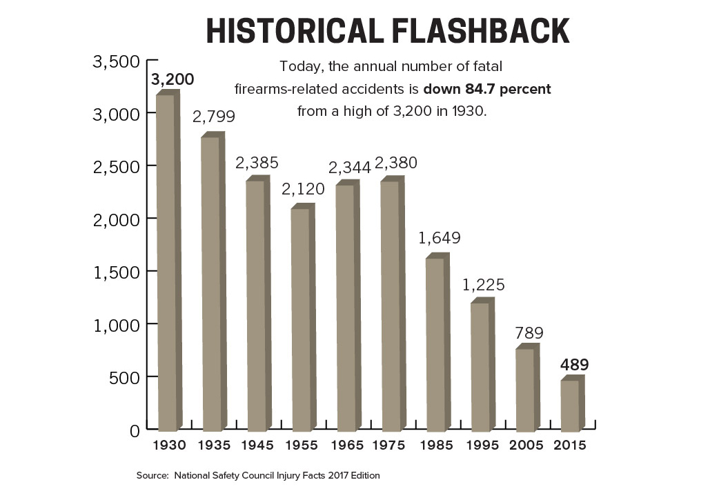 Firearm-related Accidental Death-Historical Flashback