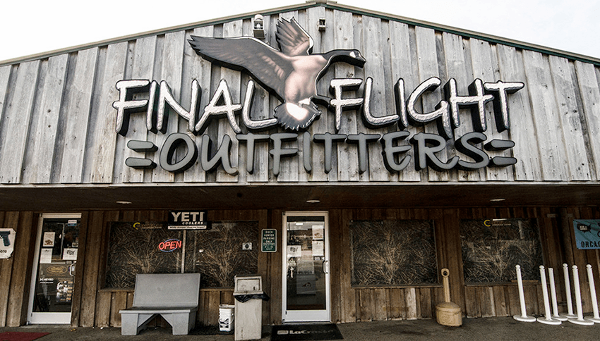 Waterfowl Sales - Final Flight Storefront