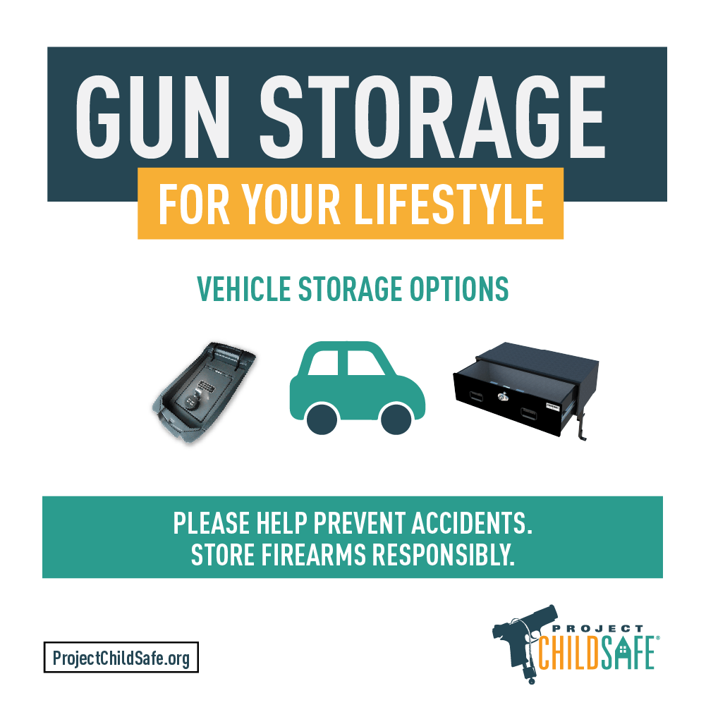 Do you have your firearm(s) securely stored when you transport them in your vehicle? The last thing you want is to have your gun stolen and potentially misused. Here are some things to consider.